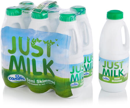 Semi-skimmed JUST MILK